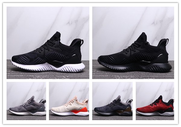 2019 Top Quality Cheap Sale Alpha Bounce M V3 Sports Running Shoes 3 V3s Black White Blue Men Women Outdoors Sneakers Size 36-45