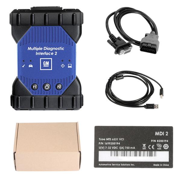 Per G M MDI 2 interfaccia diagnostica multipla MDI II dispositivo d'esplorazione con Wifi Carta