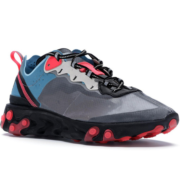 Blue Chill Solar Red Neptune Royal Tint Epic React Element 87 Undercover Men Running Shoes For Women Designer Sneakers Sports Trainer Shoes