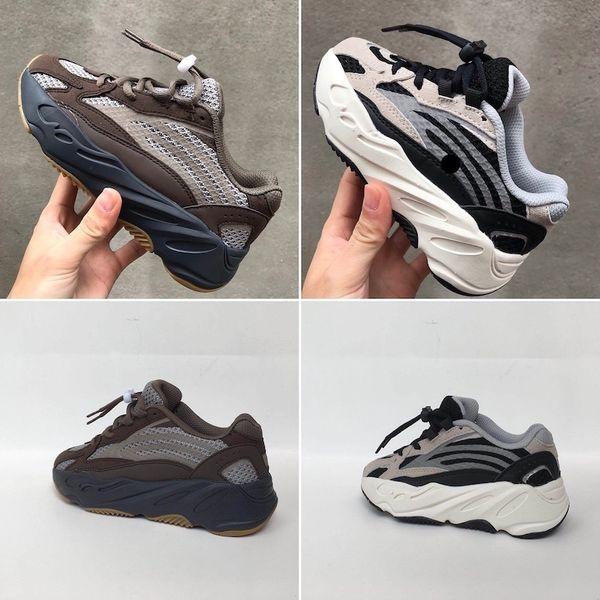 Adidas Yeezy 700 Big Kids 700 Wave Runner pour Kid Mauve Sneakers Jeunesse Inertia Sneaker Adolescent Sport Chaussures Garçons Baskets Enfants