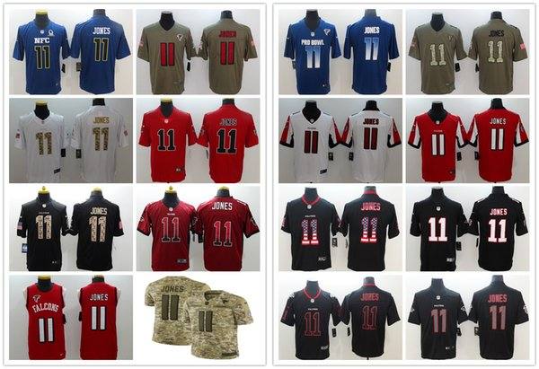 2019 New Mens 11 Julio Jones Atlanta Jersey Falcons Jersey Football  Stitched Embroidery Julio Jones Color 09c384866