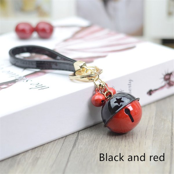 Bycobecy Men's And Women's Universal Cartoon Cute Car Key Bag Personalized Fashion Pendant Accessories Bell Metal Key Holder