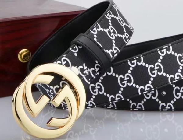 2018 Belt high quality men's genuine leather belt designer buckle belts men belts for men women fashion pin buckle