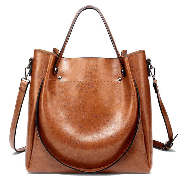 New Women Bag High Quality Leather Women Shoulder Bags Women Handbags Large Capacity Ladies Tote And Crossbody Bag