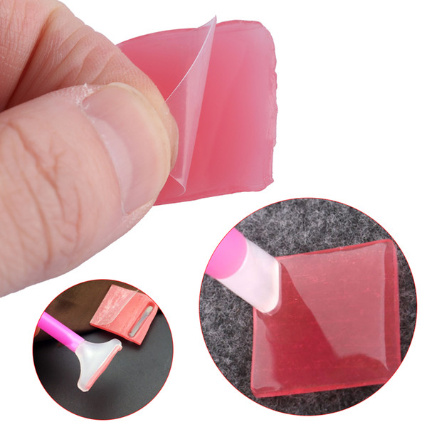10 UNIDS Resina 5D Pink Drilling Mud Crafts Dotting Clay Pintura DIY Nail Art Herramientas Handcraft punto de Cruz accesorios