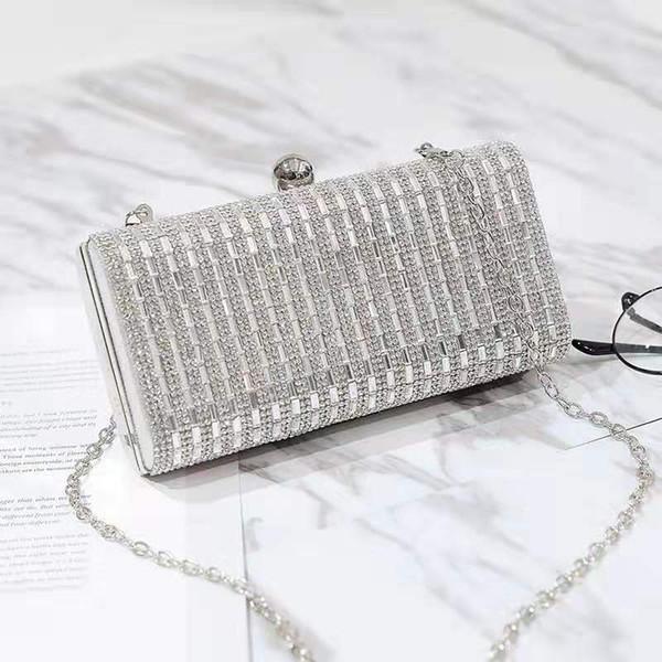 épaule nouveau concepteur de femmes de diamant de la chaîne sacs crossbody sacs à main de soirée de mode dame femme no3000 3colors sacs cosmétiques occasionnels