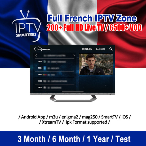 300+ French Iptv Subcription Serve HD 4K LiveTV And 600 VOD Channels  Support Reseller Panel Full Hot European Channels Iptv Abonnement Best  Android Tv