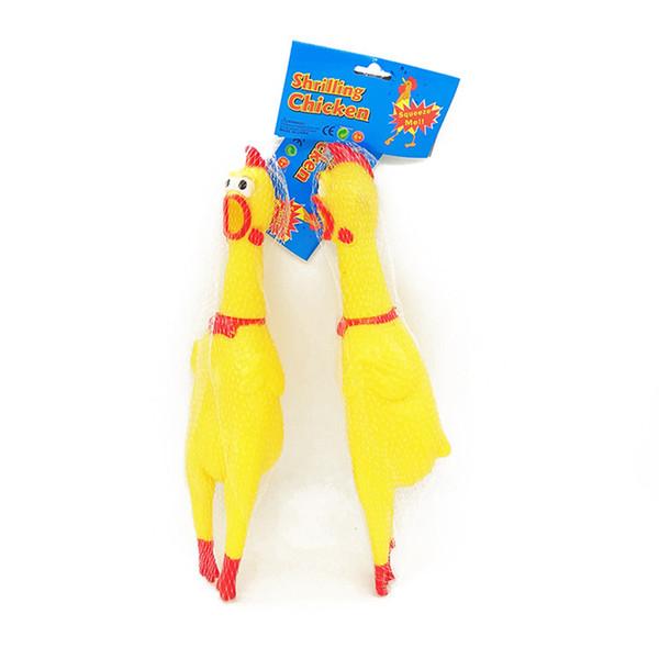 비명 소리 치킨 소리 장난감 애완 동물 장난감 제품 개 완구 Shrilling 감압 도구 웃기는 가제트