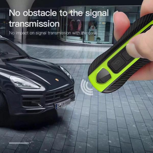 Yeni Panamera Akıllı Porsche Boxster Için Uzaktan Anahtar Durumda Kapak Fob Araba Tutucu Giriş Anahtarlık Kabuk Renkli