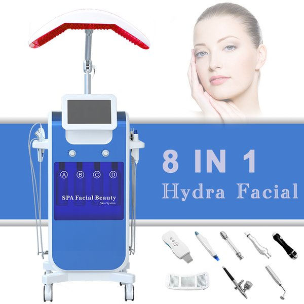 Professional Microdermabrasion Hydro Facial Machine Hydra Dermabrasion Face Deep Cleaner Eliminate acne Multifunctional Facial Spa Equipment