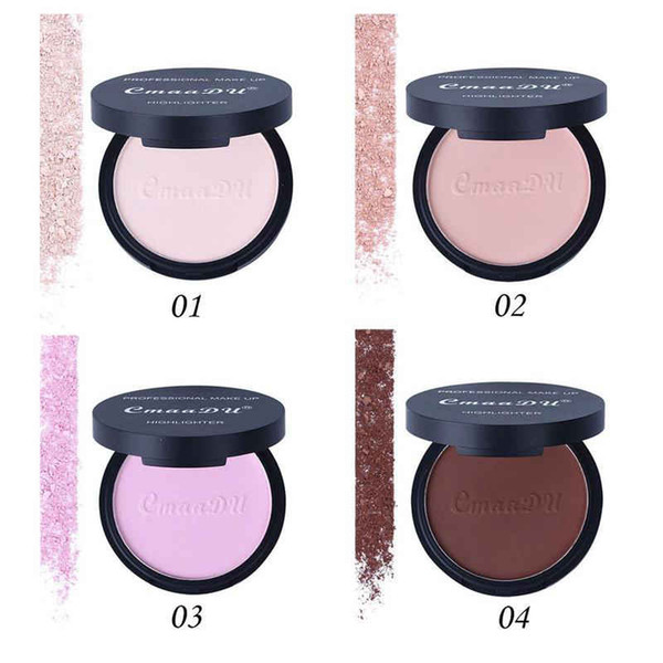Cmaadu 4 Colors Powder Cake Face Trimming Makeup Cosmetics Oil Control Concealer Powder Cake foundation primer DHL 120pcs/lot