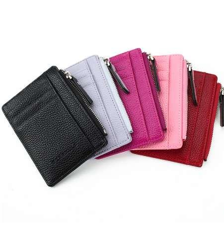 HOT Selling! Mens/Womens Mini ID card Holders Business Credit Card Holder PU leather Slim Bank Card Case Organizer Wallet