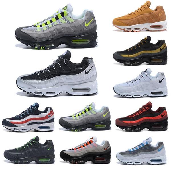 2019 95 Air Men Running Shoes Grape