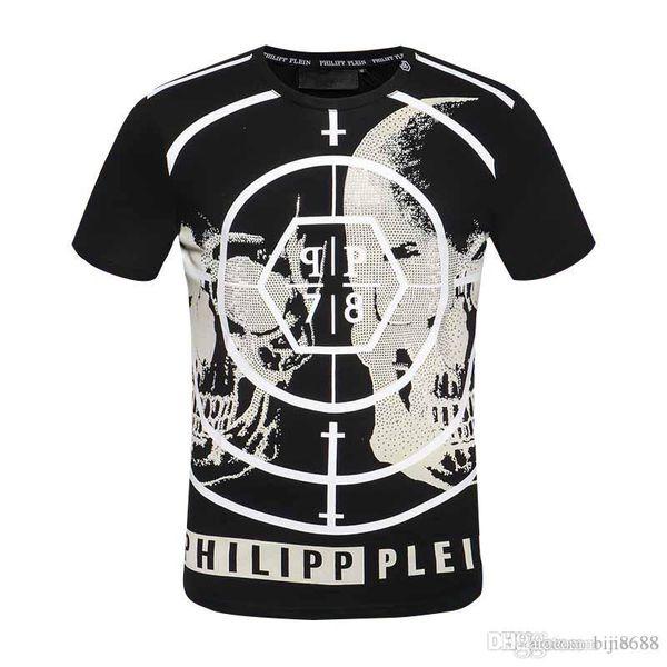 haute qualité d'été t-shirt à manches courtes hommes Mode TShirt d'été T-shirt décontracté crâne des hommes t-shirt de haute qualité d'été Haut dh
