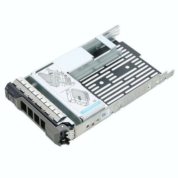 Custodia per laptop Hard Disk Drive Adapter Cassetto caddy Custodia da 3,5 pollici a 2,5 pollici SATA / SAS / SSD Drives per Dell F238F Y004G 09W8C4