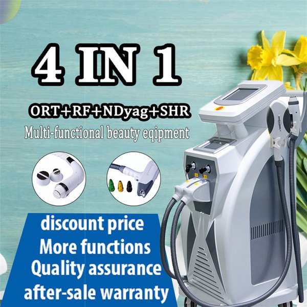 hight tech new type powerful 3 in 1 opt+rf+laser shr skin rejuvenation tattoo hair removal machine dhl freight - from $2253.81