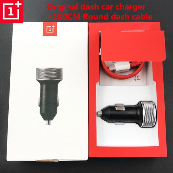 Chargeur allume-cigare avec câble original de 1m 1+ type C type Dash Charge rapide rapide pour Oneplus 6t 6 5 3t 3 One Plus Six J190427