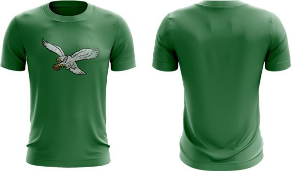 Sublimation T Shirt Design Green