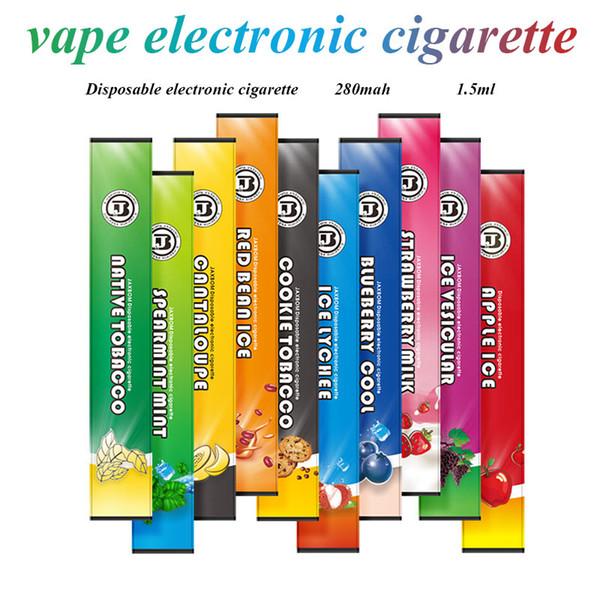 2019new Vape kit Fruit-flavored electronic cigarette Disposable electronic cigarette 280ml internal battery Quit smoking e cigarette kit