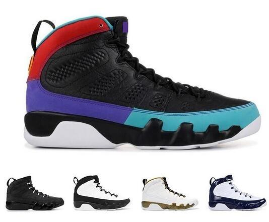 Università Jumpman 9 Dream E 'Do It Black Rosso Scuro Concord mens scarpe da basket 9s UNC Bred Calzature sportive scarpe da ginnastica