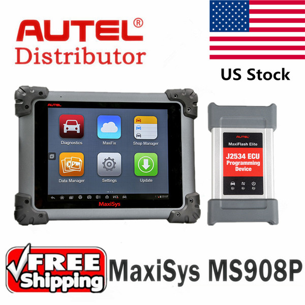 Autel Maxisys Pro MS908P AUTEL Maxisys MS908 pro Diagnostic Tool full System J2534 programming Update Online Free