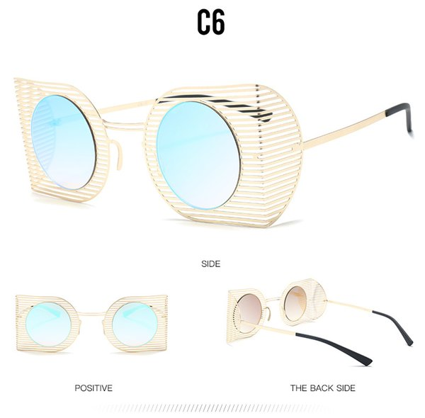 C6 ouro / azul gradiente