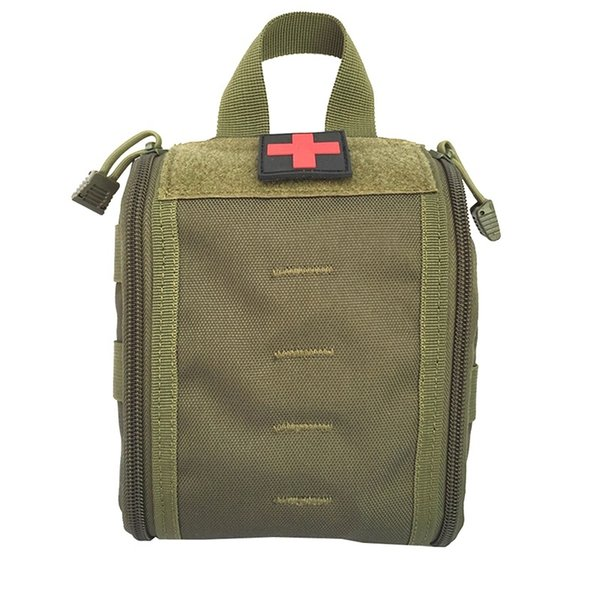 Hunting Utility Belt Bag Tactical Molle Medical Kit Pouch Emergency Survival Gear Bag First Aid Kit Pouch Tool #28720