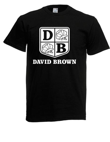 Herren T-Shirt David Brown I Traktor Sprüche Fun Lustig bis 5XL 3XL Round Collar Short Sleeve Tee Shirts top tee