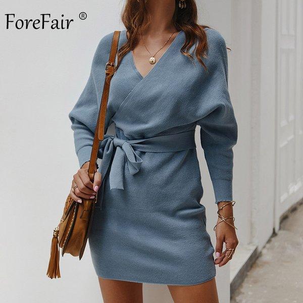 Голубом платье
