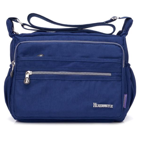 Women Casual Nylon Shoulder Bags Messenger Multilayer Bag Waterproof Lady Mom Vintage Handbag Bolsas Feminina Crossbody Bags