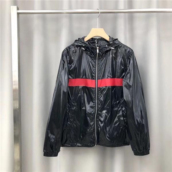19AW Роскошный Париж Brand Design Учитывая капюшоном куртки Толстовки Мужчины Женщины Одежда Свитера Мода Streetwear Открытый толстовки пальто