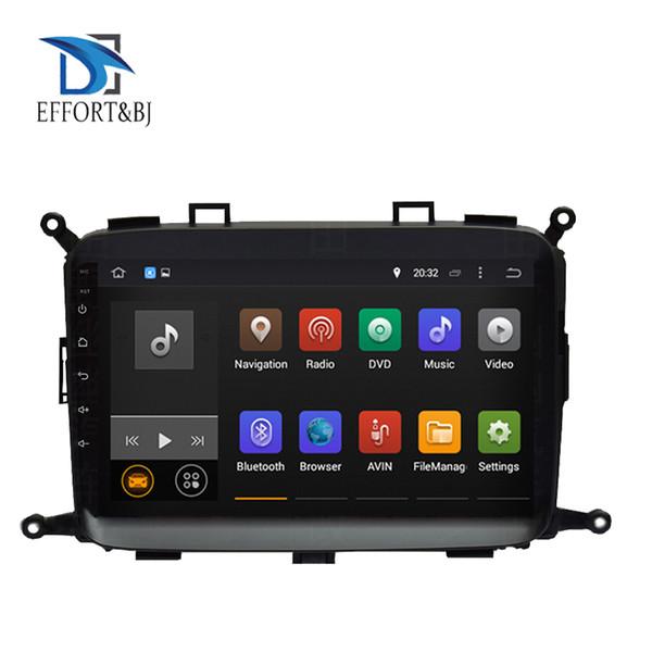 9 pouces écran tactile complet Android 9.0 Octa noyau de navigation GPS de voiture pour KIA CARENS 2013-2019 lecteur multimédia unité principale Radio BT voiture dvd