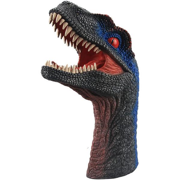 chaud vente Marionnettes à main réaliste T-Rex Jeux de rôle Toy Dinasour Latex de marionnettes pour les adultes et les enfants en gros