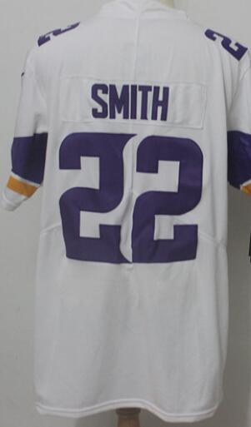 Man Minnesota 22 Jersey 8 Men Shirts Embroidery and 100% stitched 2019 Vapor Limited American Football jerseys