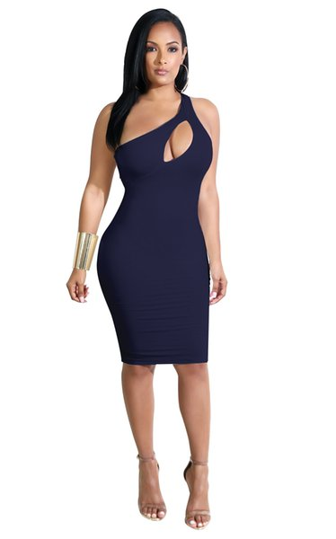 Лето Модные платья женщин Европы и Соединенных Штатов Америки сексуальные выдолбленные повязки с ягодицами повседневные платья