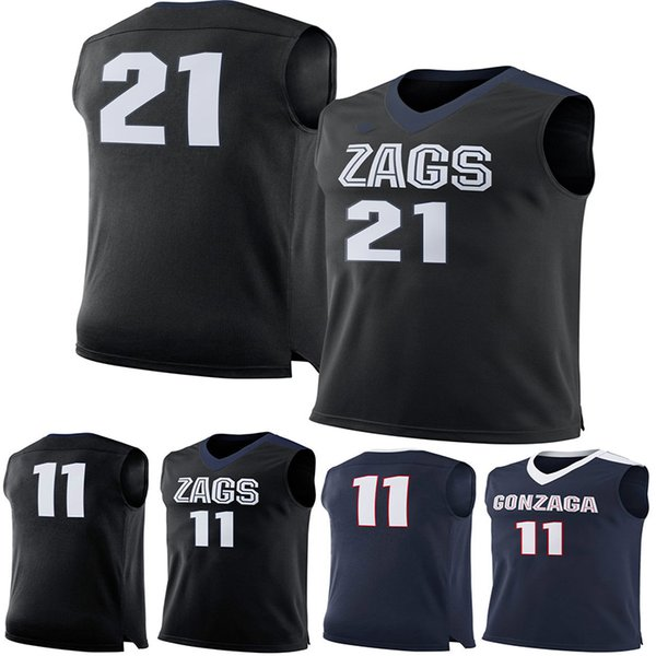 11 Domantas Sabonis 21 Rui Hachimura Gonzaga Bulldogs Men College Basketball Jersey embroidery Athletic Mens Sport Jerseys Size S-3XL