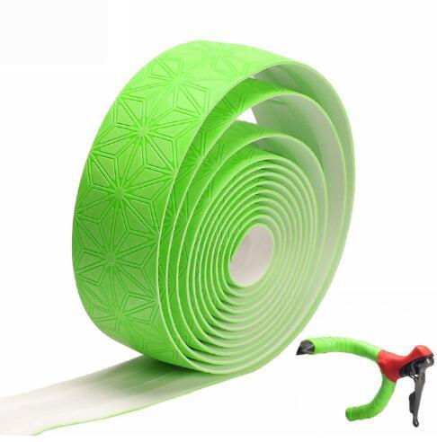 1 set Bicycle Handlebar Tape Star Fade Bike Bar Tape Cycling Road Bike Waterproof PU Tape Wrap