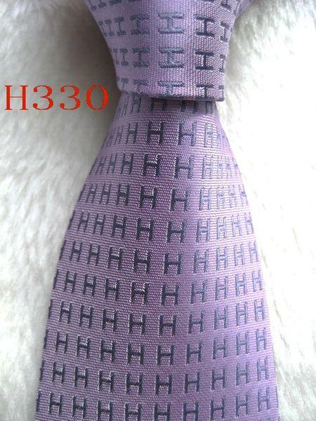Corbata de corbata H330 # 100% seda hecha a mano con tejido de jacquard para hombres