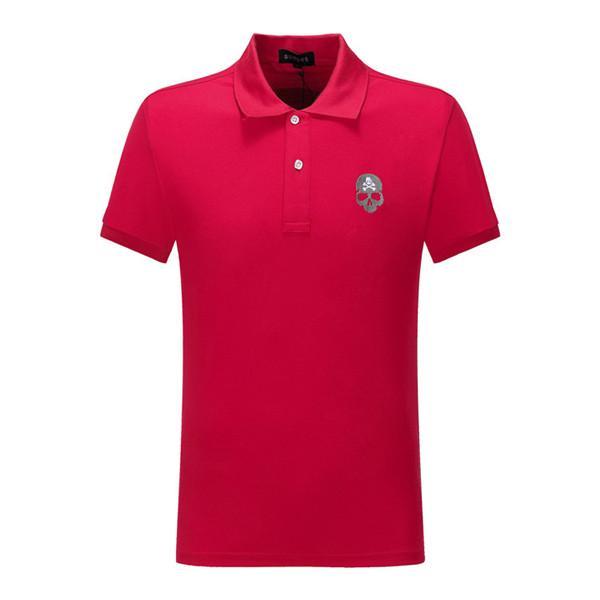 best selling hot Designer pp newest G Fashion casual men's Brand Tshirt Male medusa Men snake DOG Letter Polo Shirt Tee Tops Shirt size m-3xl