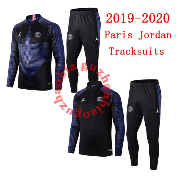 2018 2019 Top-Qualität Champions League Trainingsanzüge PSG Jordan Trainingsanzug MBAPPE Trainingsanzüge yont Trainingsjacken Paris Fußball-Sets
