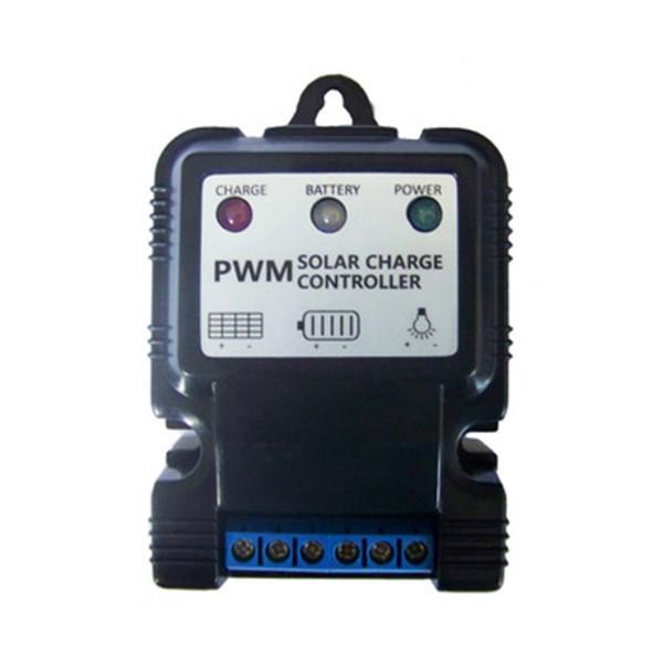 6V 12V 10A Auto Panel Solar Controlador de carga Cargador de batería Regulador PWM