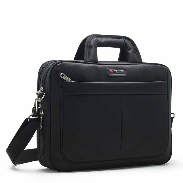 2019 New Arrival High Quality Business Man Briefcase Men Oxford Laptop Handbags Boy Large Capacity Waterproof Notebook File Bags J190629