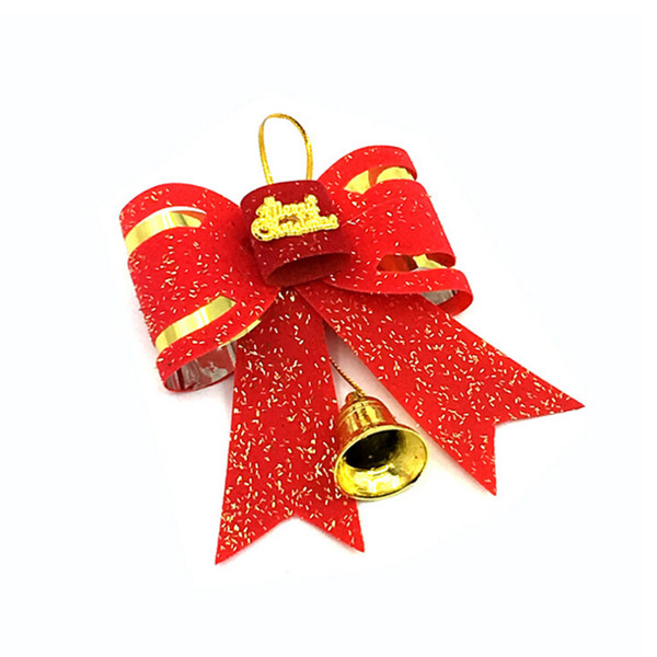 New Year Christmas Tree Ornament Home Bowknots Baubles Christmas Big Bow Tie Type Decoration Xmas Decorations Bowknot
