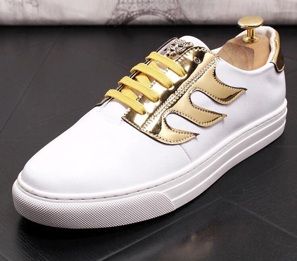 2019 New Men loafers casual shoe men's Dress Shoes Oxfords edition young trainers men's Driving shoes LF50