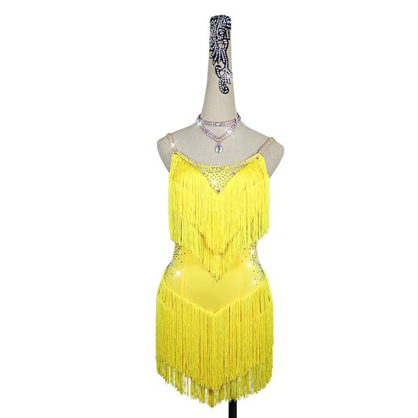 만 노란 드레스