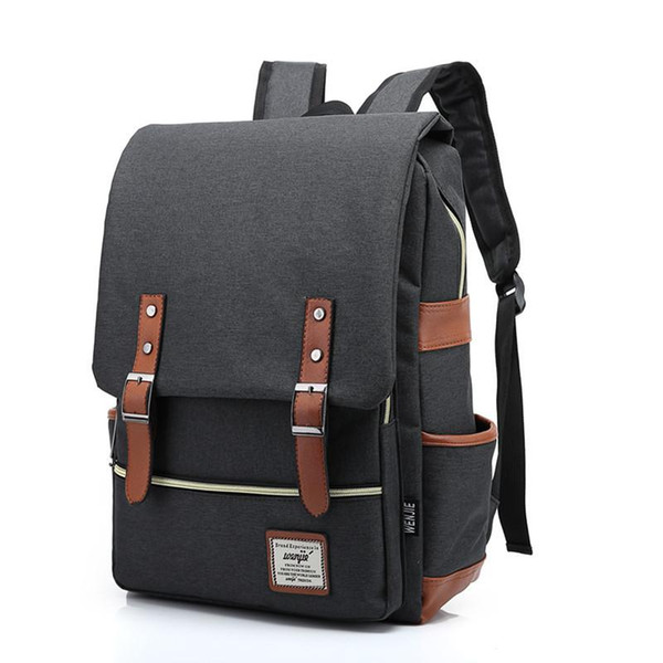 Оптовая торговля-Стейси сумка 041416 опрятный стиль студент школьная сумка подросток ноутбук рюкзак