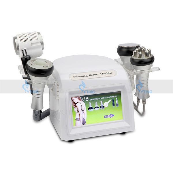 Neueste 40 KHz Ultraschall Kavitation Maschine Vakuum Abnehmen Fettabsaugung Körpergewicht Verlust RF BIO Gesicht Hautstraffung Schönheitssalon Heimgebrauch