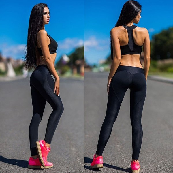 ACTIVEWEAR YOGA PANTS WOMEN HEARTS LEGGING GYM ORGANIC COTTON SPORTS
