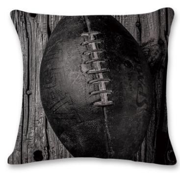 #8 Baseball Throw Pillow Case