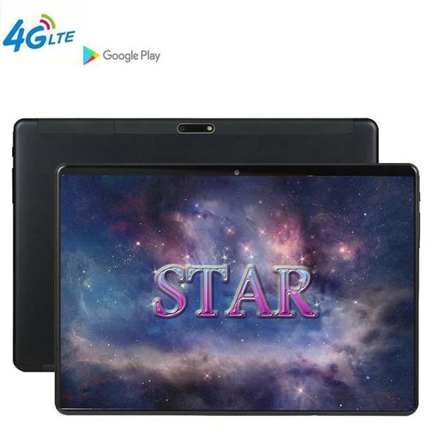 Tablette 10 pouces DHL MTK8752 PC 3G Android 9.0 Tablettes métalliques Octa Core 4G LTE RAM Grand 64GB ROM WiFi GPS 10.1 Tablette de jeu